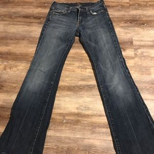 Wokens 7 for all Mankind Jeans size 25